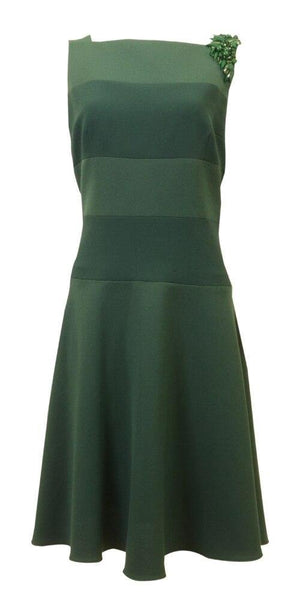 Teri Jon Emerald Jewel Dress