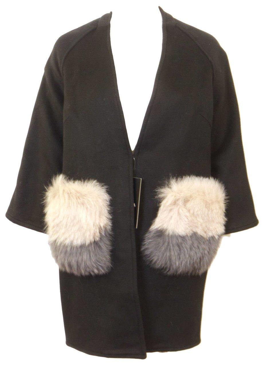 Wear & Flair Prada Fur Pocket Jacket