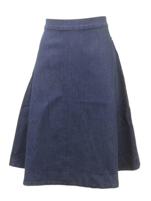 Junee Denim A-line Kids Patty D Skirt
