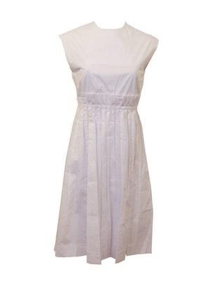 Weekend White Scrunch Jumper Dress
