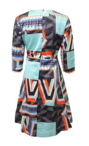 To-La-Roo Colorful Printed Dress