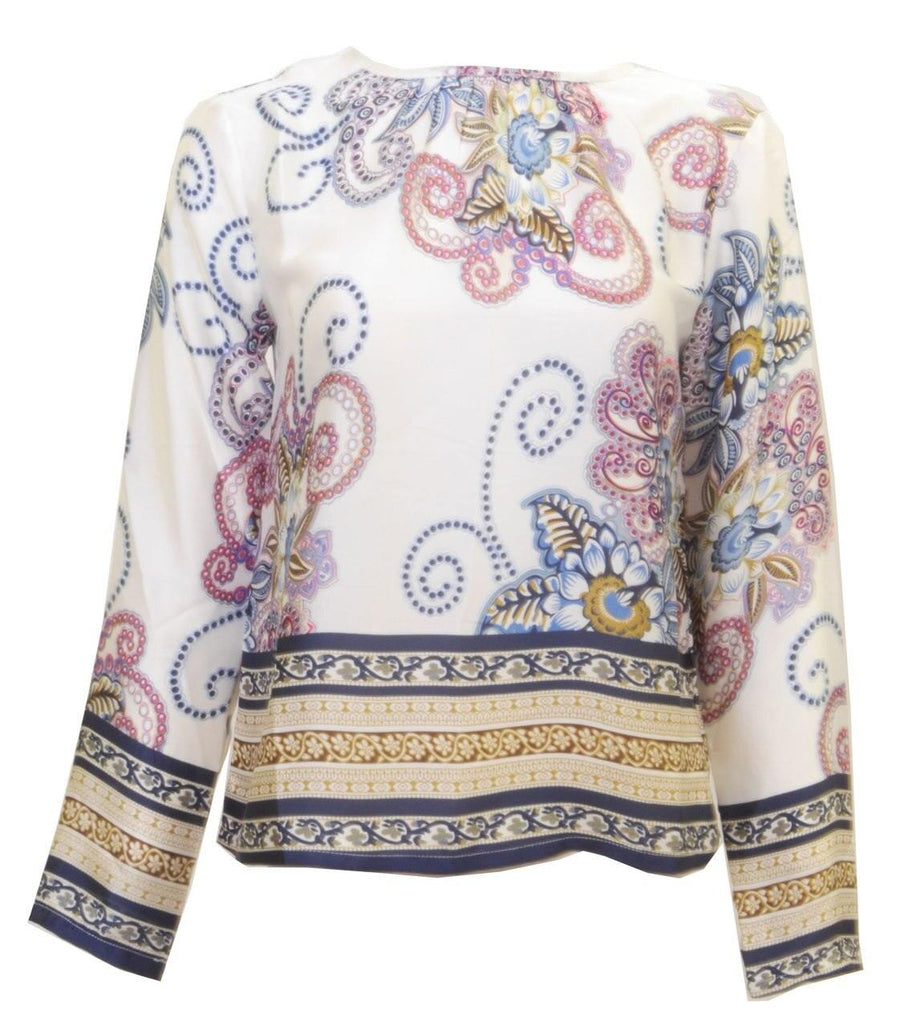 Miss Finch Paisley Blouse