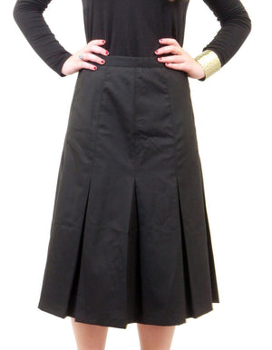 Miz Wear Box Pleat Skirt
