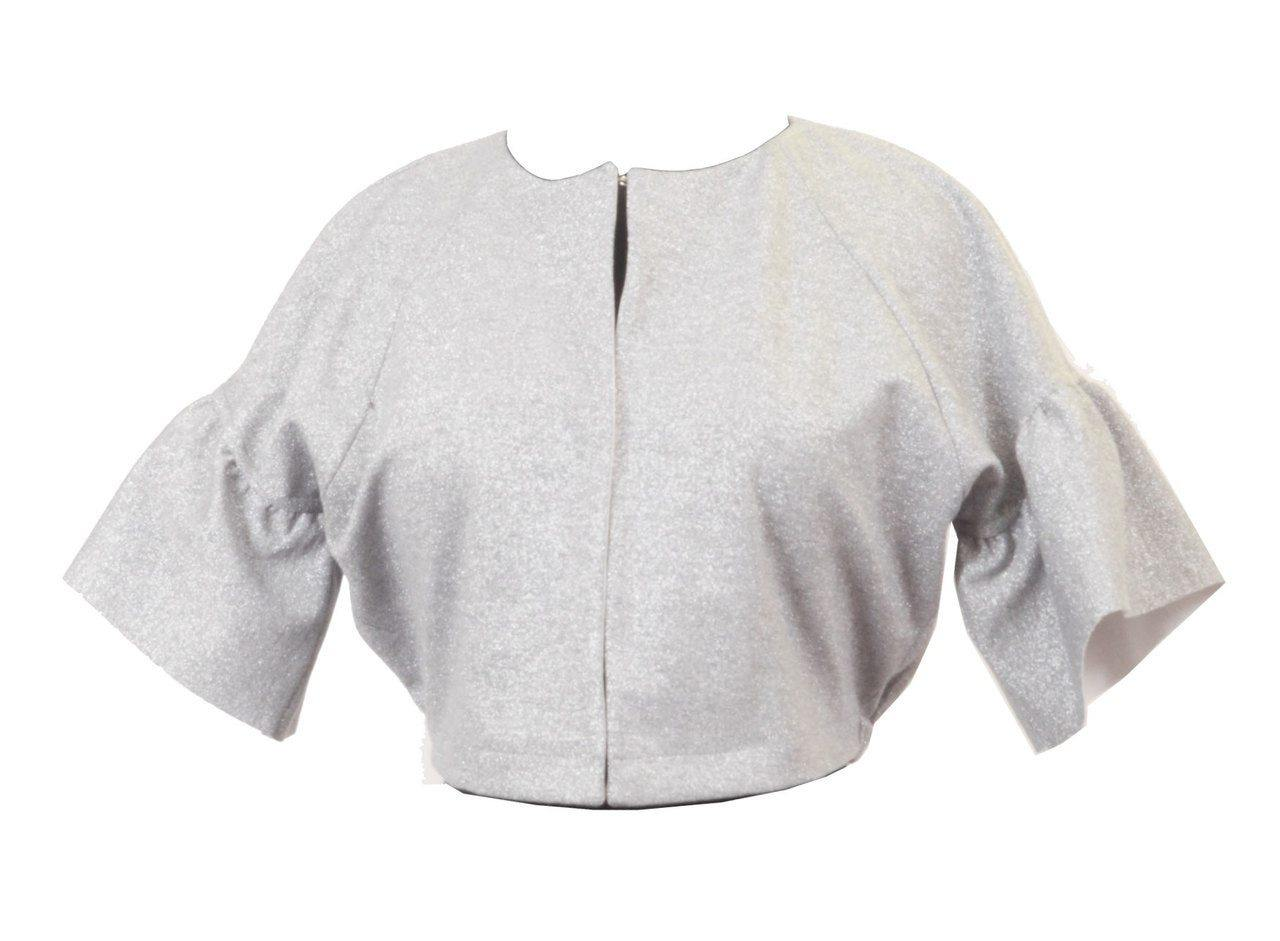 Sabra Sparkle Crop Jacket