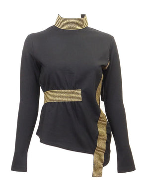 Tierra Tu Tu Gold Trimmed Top