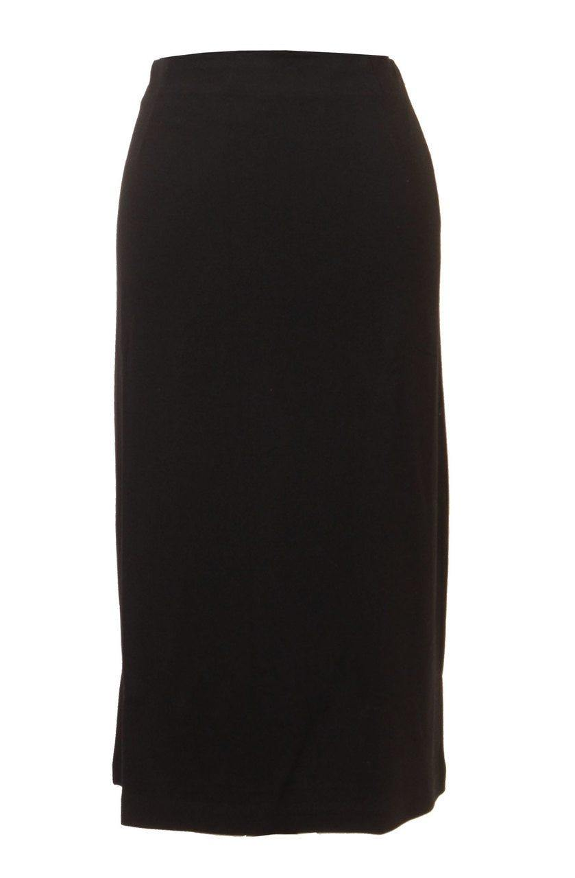 Euro Design Stretch Slinky Skirt