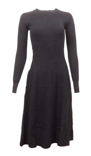 Wear & Flair Ribbed Sweater Dress