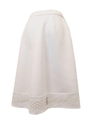 Nu Construction Scuba Lace Skirt