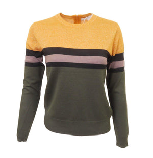 Chee-Cho Gold Block Sweater
