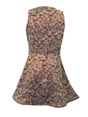 Allison Collection Metallic Jacquard Party Dress