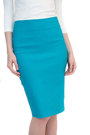 Riva Karen Stretch Pencil Skirt