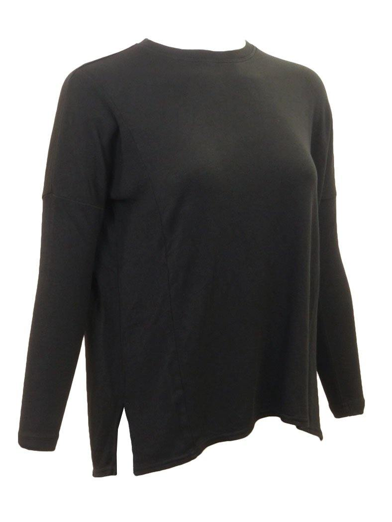 Hard Tail Long Sleeve Slouchy Luxe Top ROX-03