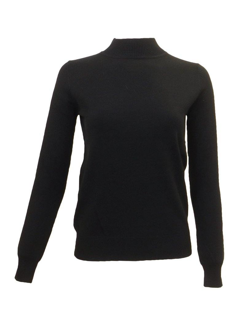 Wear & Flair Mock Neck Sweater Front