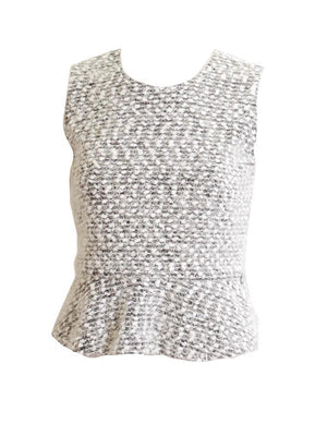 Sportchic Mohair High-Lo Sleeveless Top