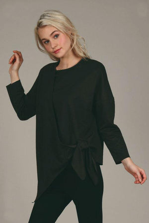 Lili Sidonio Wrap and Tie Top