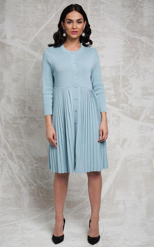 Apparalel Pleated Sweater Dress