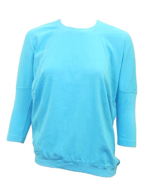 Hardtail 3/4 Sleeve Drape Back Tee T-207