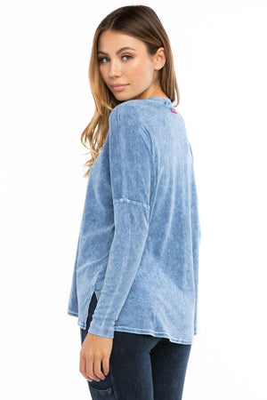 Hardtail Long Sleeve Slouchy Tee T-212
