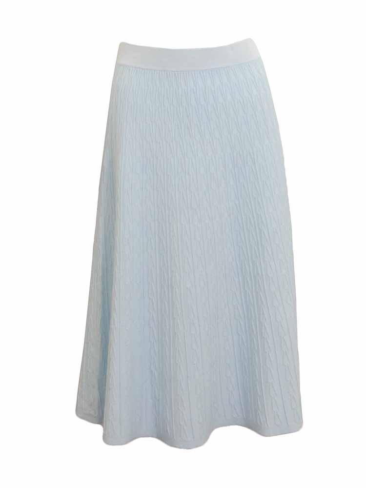 Trucco Textured Sweater Skirt