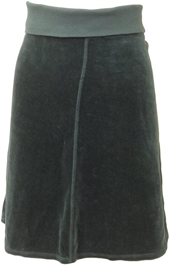 Hard Tail Junior Velour Flare Skirt V-823