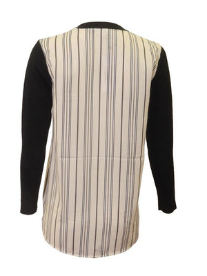 EUX Stripe Combo Sweater