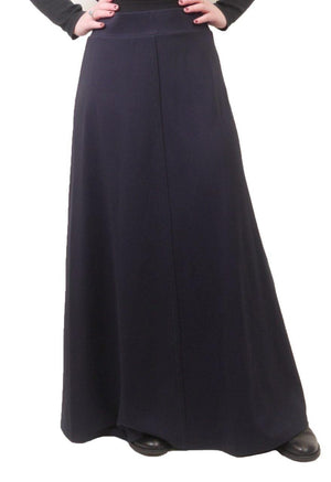 Wear and Flair Long Black Skirt 38""