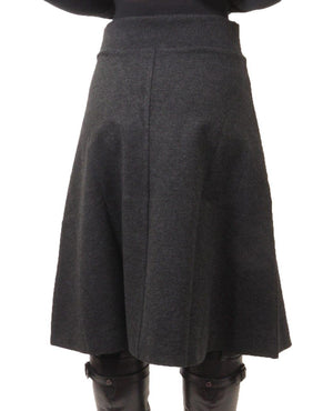Wear and Flair Charcoal Skirt