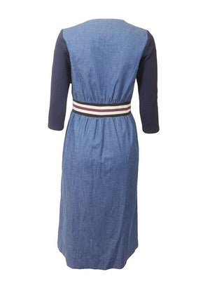 The Alley Denim Dress
