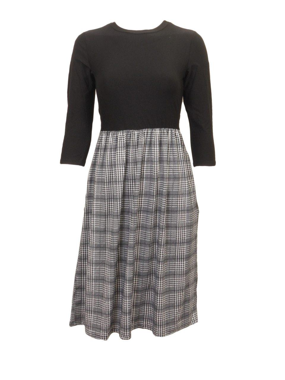 Chi Chi Houndstooth Dress