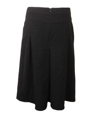 The Cue Wool Pleat Skirt
