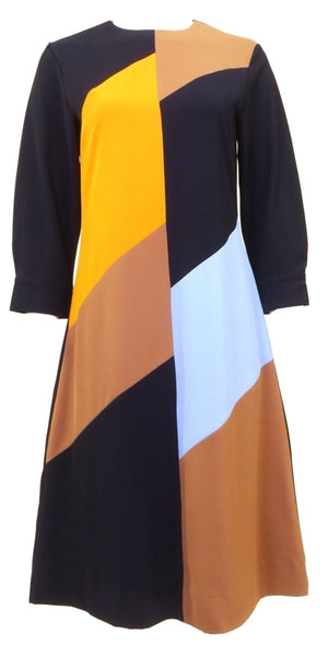 Elia Mod Color Block Dress