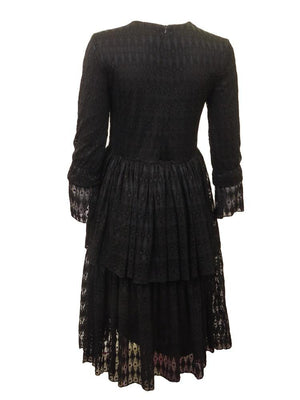 Harriet & Mary Lace Tiered A-line