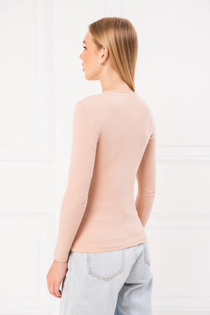 Kikiriki Ribbed Long Sleeve Top