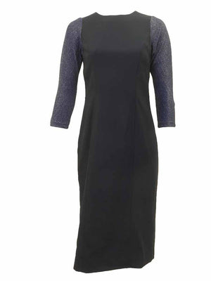 Mossaic Sparkle Sleeve Sheath Dress