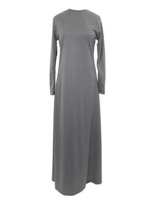 SAM Metallic Maxi Dress