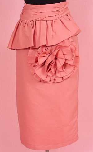 Soraya Rose Peplum Skirt