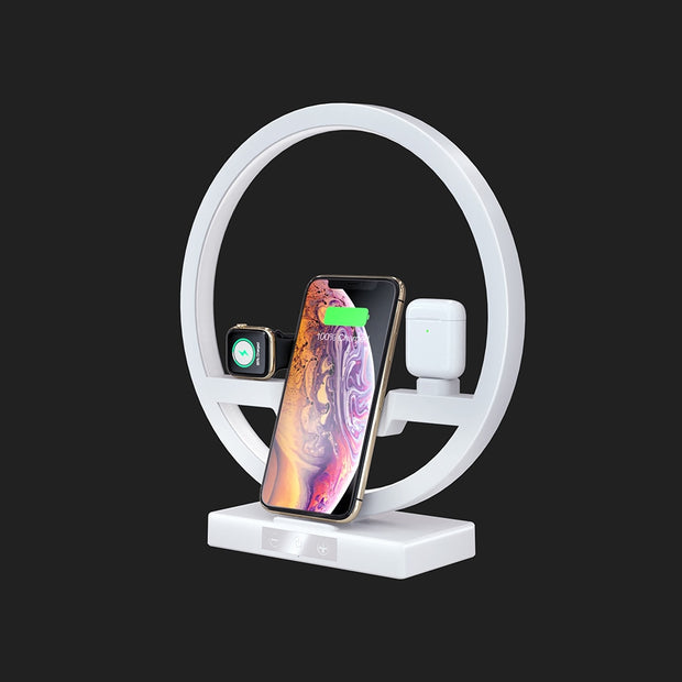 Fast Wireless Charger Dock For Apple