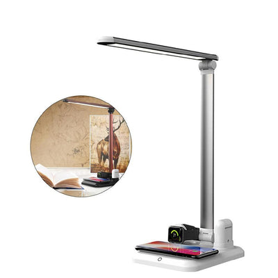 4-In-1 Bedside Lamp Qi Charger
