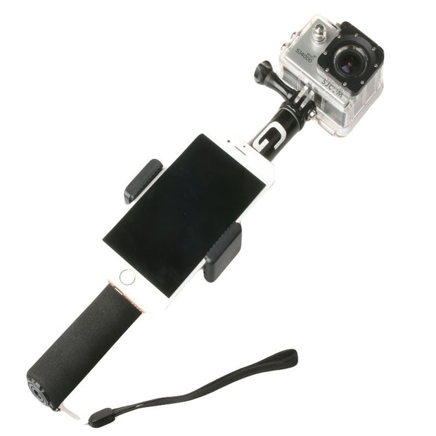 Action Cam and Smartphone Monopod