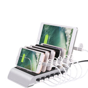 6-Port Multiple Charger Station