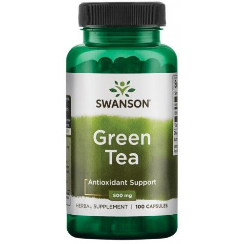 Green Tea  100 Capsules  500 mg