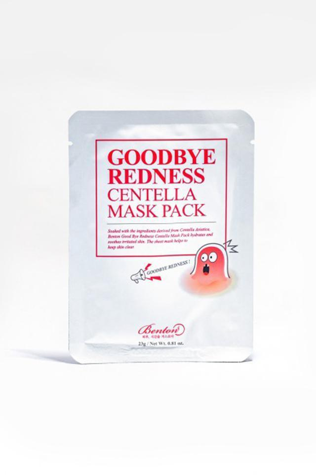 Mascarilla Purificadora Goodbye Redness Centella Mask Benton mask