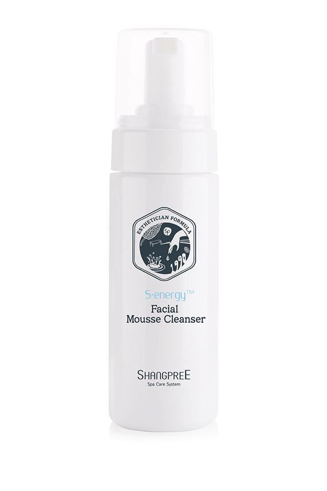 Limpiador Purificador Shangpree S-Energy Facial Mousse Cleanser (150ML) Shangpree cleanser