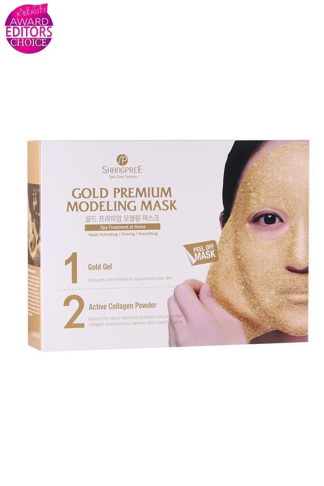 Mascarillas Peel-Off Reafirmantes Gold Premium Modeling Mask(pack 5) Shangpree mask