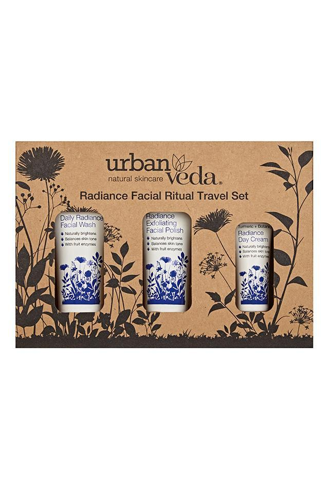 Radiante Ritual Facial Set de Viaje Urban Veda sets