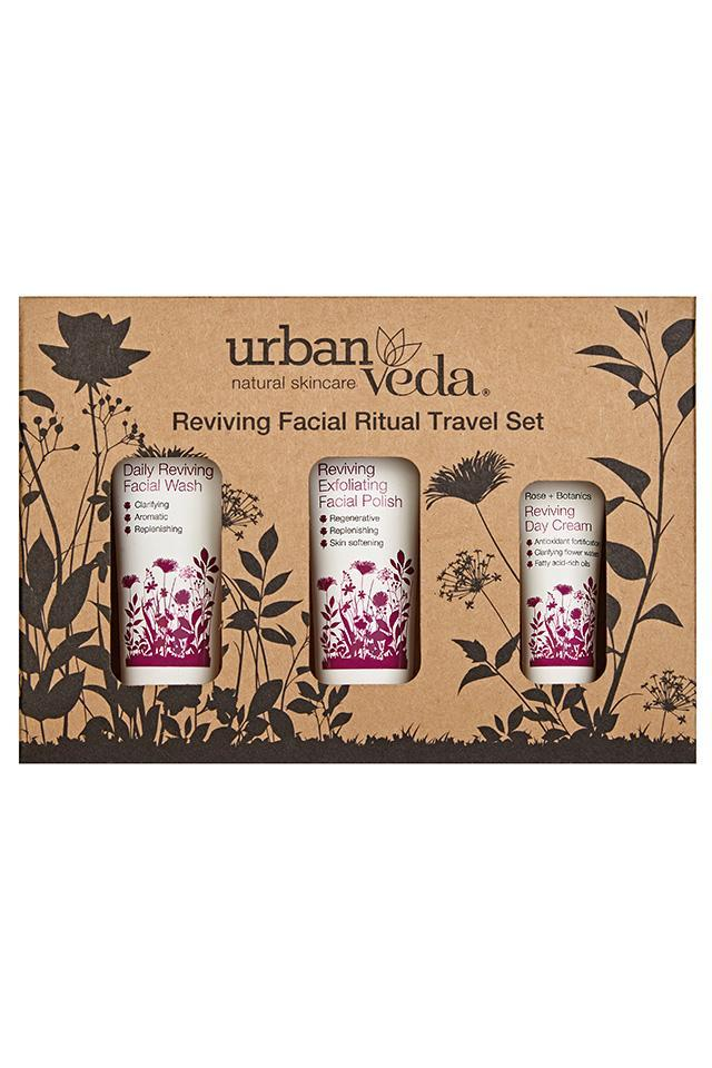 Revitalizante Ritual Facial Set de Viaje Urban Veda sets