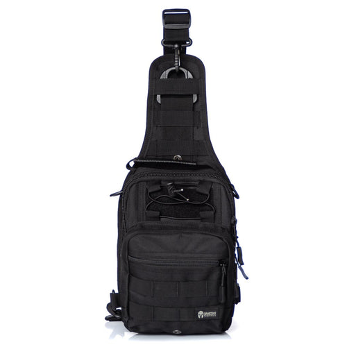 SPARTAN TACTICAL ARC SLING BAG BLACK