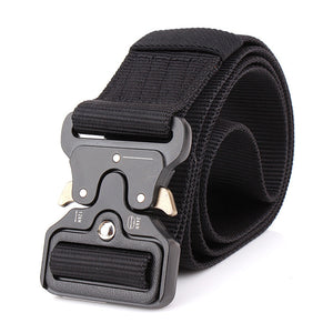 ENNIU MILITARY STYLE BELT WITH Quick-Release System black color