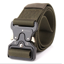 Load image into Gallery viewer, ENNIU MILITARY STYLE BELT WITH Quick-Release System military green color