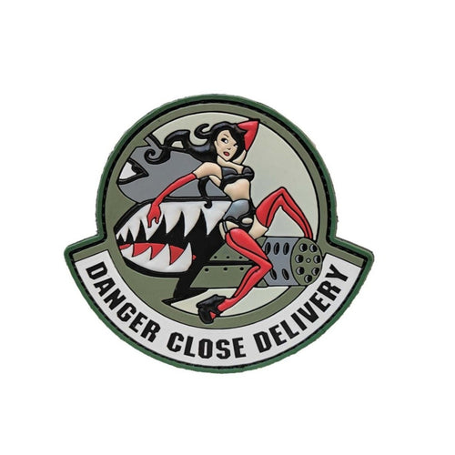 Danger Close Delivery PVC Patch